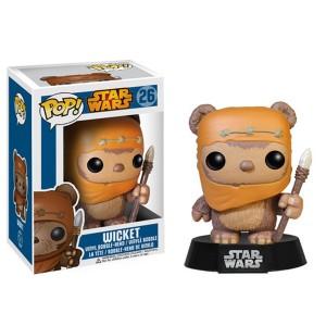 ขาย ตุ๊กตาโมเดล FUNKO POP : Star Wars : WICKET ราคา