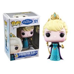 ขาย ตุ๊กตาโมเดล FUNKO POP : Frozen : CORONATION ELSA 2 ราคา