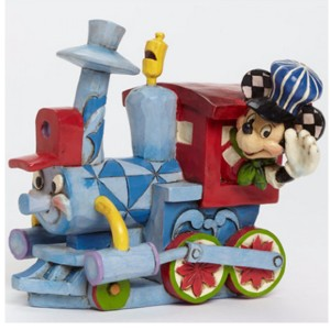 ขาย โมเดล DISNEY TRADITIONS : ENESCO : CASEY JR. TRAIN WITH MICKEY ราคา