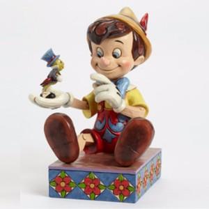ขาย ตุ๊กตาโมเดล DISNEY TRADITIONS : ENESCO : PINOCCHIO AND JIMINY CRICKET ราคา