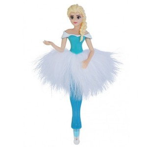 STATIONERY  ELSA IN FEATHER SKIRT 3D PEN