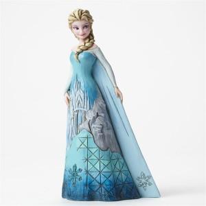 ขาย โมเดล DISNEY TRADITIONS : ENESCO : ELSA WITH ICE CASTLE DRESS ราคา