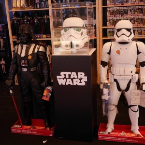 star wars force awakens play house pop-up store toy siam paragon ขาย