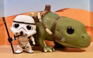ขาย sand trooper and dewback funko pop ราคา