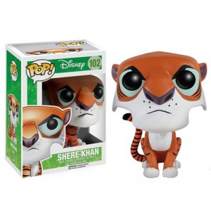 ตุ๊กตาโมเดล FUNKO POP : Disney's The Jungle Book : SHERE KHAN