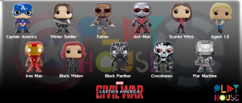 funko pop captain america civil war marvel x ironman play house best toy store thailand