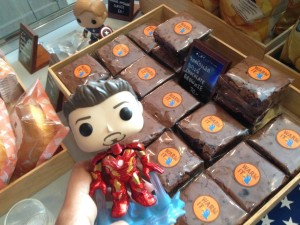 ironman vs captain america food bluecup play cafe thailand