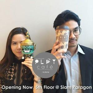 play cafe opening at siam paragon floor 5 bangkok thailand