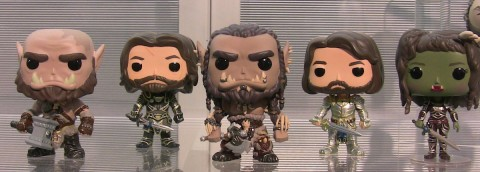 world of warcraft movie funko pop thailand characters