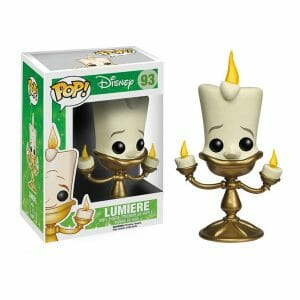 FUNKO POP : Disney's Beauty and the Beast : LUMIEREตุ๊กตาโมเดล FUNKO POP : Disney's Beauty and the Beast : LUMIERE