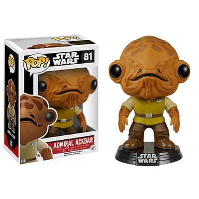 VAULT : FUNKO POP : STAR WARS : ADMIRAL ACKBARตุ๊กตาโมเดล FUNKO POP : STAR WARS : ADMIRAL ACKBAR
