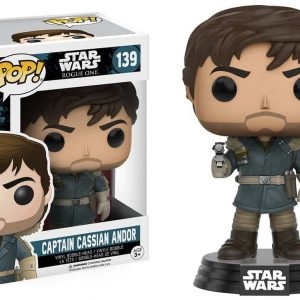 FUNKO POP : STAR WARS : ROGUE ONE : CAPTAIN CASSIAN ANDORตุ๊กตาโมเดล FUNKO POP : STAR WARS : ROGUE ONE : CAPTAIN CASSIAN ANDOR