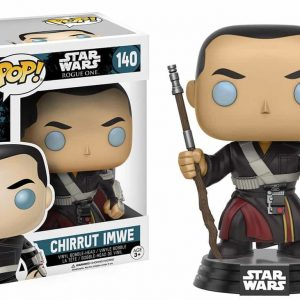 FUNKO POP : STAR WARS : ROGUE ONE : CHIRRUT IMWEตุ๊กตาโมเดล FUNKO POP : STAR WARS : ROGUE ONE : CHIRRUT IMWE