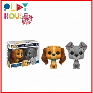 POP : Lady and the Tramp - Lady & Tramp US Exclusive Pop! Vinyl 2-PackPOP : Lady and the Tramp - Lady & Tramp US Exclusive Pop! Vinyl 2-Pack