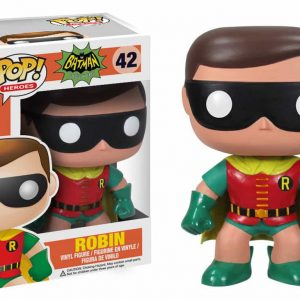 FUNKO POP : BATMAN CLASSIC : ROBINตุ๊กตาโมเดล FUNKO POP : BATMAN CLASSIC :  ROBIN