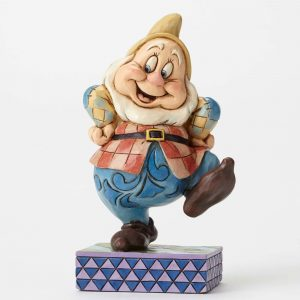 DISNEY TRADITIONS : ENESCO : Happy FigurineDISNEY TRADITIONS : ENESCO : Happy Figurine