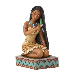 DISNEY TRADITIONS : ENESCO : Pocahontas with BirdDISNEY TRADITIONS : ENESCO : Pocahontas with Bird