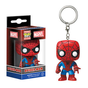POP Keychain: Marvel - Spider-Manพวงกุญแจ Spider-Man