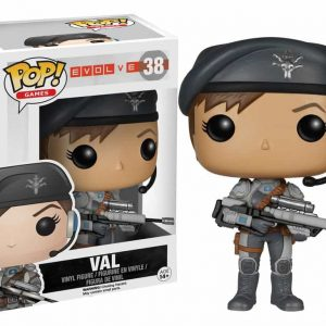 FUNKO POP : EVOLVE : VALตุ๊กตาโมเดล FUNKO POP : EVOLVE : VAL