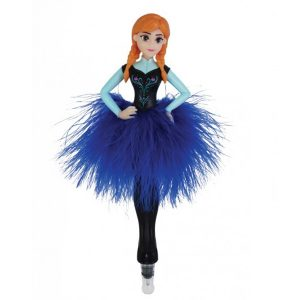 STATIONERY :  ANNA IN FEATHER SKIRT 3D PEN