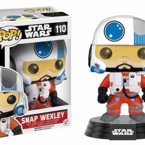 FUNKO POP : STAR WARS : SNAP WEXLEYตุ๊กตาโมเดล FUNKO POP : STAR WARS : SNAP WEXLEY