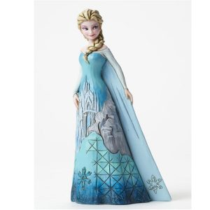 DISNEY TRADITIONS : ENESCO : ELSA WITH ICE CASTLE DRESS โมเดล DISNEY TRADITIONS : ENESCO : ELSA WITH ICE CASTLE DRESS