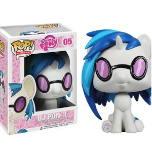 FUNKO POP : My Little Pony : DJ PON-3ตุ๊กตาโมเดล FUNKO POP : My Little Pony : DJ PON-3