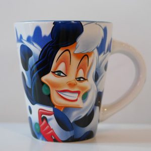 HOME & DECOR : CRUELLA DE VIL MUG STAIN VILLAINS