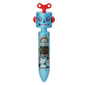 STATIONERY : BLUE ROBOT PEN