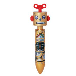 STATIONERY : GOLD ROBOT PENปากกา STATIONERY : GOLD ROBOT PEN