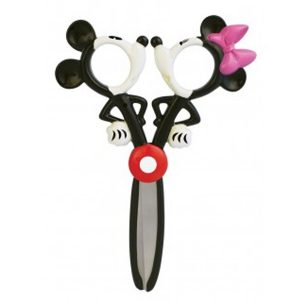STATIONERY : MICKEY & MINNIE  DANCE SCISSORS STATIONERY : กรรไกร Mickey & Minnie
