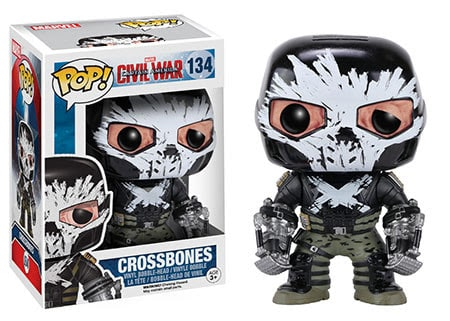VAULT : FUNKO POP : CIVIL WAR : CROSSBONESตุ๊กตาโมเดล FUNKO POP : CIVIL WAR : CROSSBONES