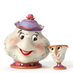 DISNEY TRADITIONS : ENESCO : Mrs. Potts and Chip Figure