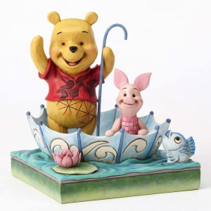 DISNEY TRADITIONS : ENESCO : Pooh and Piglet SharingDISNEY TRADITIONS : ENESCO : Pooh and Piglet Sharing