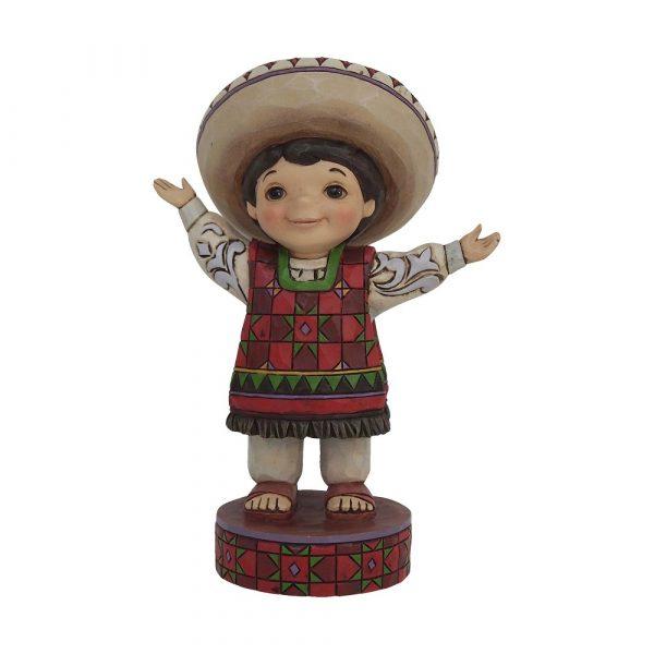 DISNEY TRADITIONS : ENESCO : Small World MexicoDISNEY TRADITIONS : ENESCO : Small World Mexico