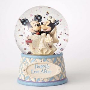 DISNEY TRADITIONS : ENESCO : Mickey & Minnie Wedding 120 MM Water ballDISNEY TRADITIONS : ENESCO : Mickey & Minnie Wedding 120 MM Water ball