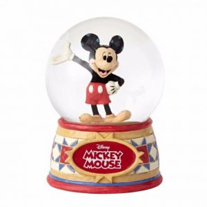 DISNEY TRADITIONS : ENESCO : Mickey Mouse 100 MM Water ballDISNEY TRADITIONS : ENESCO : Mickey Mouse 100 MM Water ball
