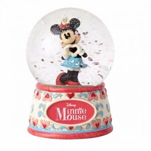 DISNEY TRADITIONS : ENESCO : Sweetheart Minnie 100 MM Water ballDISNEY TRADITIONS : ENESCO : Sweetheart Minnie 100 MM Water ball