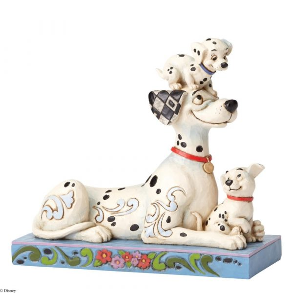 DISNEY TRADITIONS : ENESCO : Pongo with Penny and RolDISNEY TRADITIONS : ENESCO : Pongo with Penny and Rol